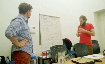 Thumbnail picture for page:  Organizational meeting in Berlin