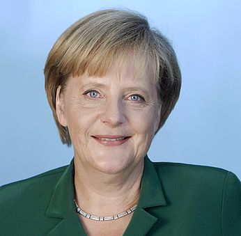 Thumbnail picture for page:  Greeting of Chancellor Angela Merkel to the ScoutingTrain 2014 of the BdP Scout Association