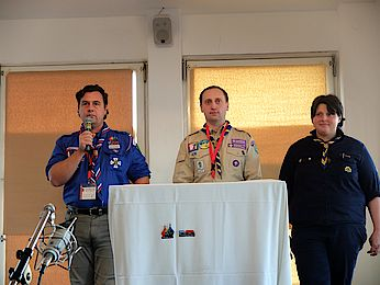 Thumbnail picture for page:  ScoutingTrain's last stop: Closing Ceremony in Berlin